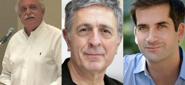 Στα Τρίκαλα : Στέλιος Κούλογλου , Κώστας Μπακογιάννης , Σταύρος Μπένος σε εκδήλωση για την διέξοδο από την κρίση