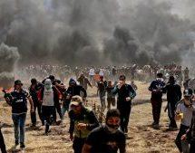 Η Γάζα φλέγεται: Σφοδρές συγκρούσεις Παλαιστινίων με τον ισραηλινό στρατό – Νέοι νεκροί