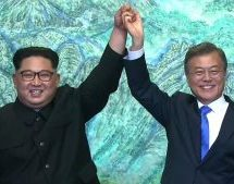 Ιστορική στιγμή: Τέλος ο πόλεμος, τέλος τα πυρηνικά λένε Βόρεια και Νότια Κορέα