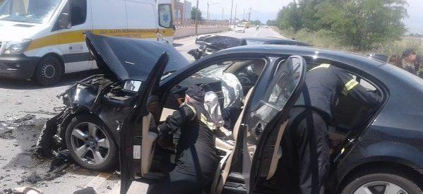 Πατέρας τριών παιδιών ο νεκρός οδηγός του τροχαίου στη Λάρισα