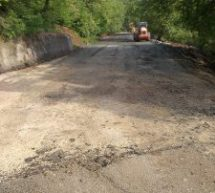 Αποκαταστάσεις ζημιών σε δρόμους από την Π.Ε. Τρικάλων