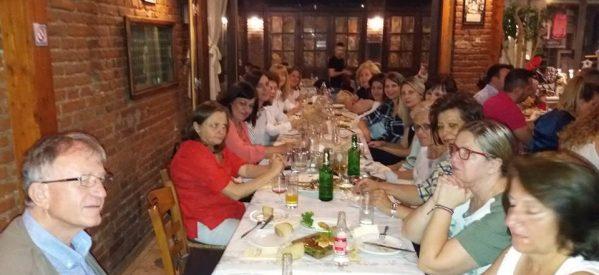 Αποχαιρετιστήριο δείπνο των καθηγητών του 2ου Γυμνασίου Τρικάλων