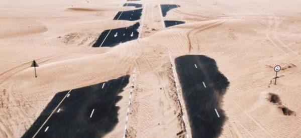 Η έρημος «καταπίνει» το Ντουμπάι και το Άμπου Ντάμπι – Εντυπωσιακές φωτογραφίες από την ανακατάληψη της φύσης