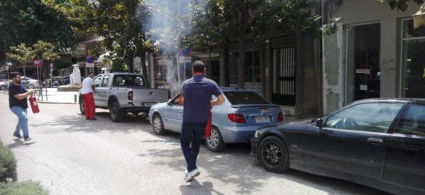 Τρικαλινός απείλησε τη γυναίκα του με όπλο και έκαψε το αυτοκίνητό