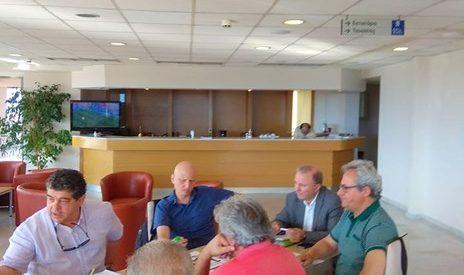 Σύσκεψη στο νοσοκομείο για θέματα υγείας στη Δυτ. Θεσσαλία