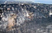 Μια περιοχή… νεκροταφείο -Συγκλονιστικές εικόνες από drone στο Μάτι [βίντεο]
