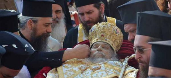 Στον Άγιο Αχίλλιο το σκήνωμα του μακαριστού Μητροπολίτου Λαρίσης κυρού Ιγνατίου