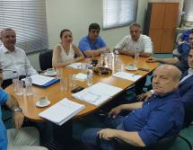 Σύσκεψη πολιτικών στη Σχολή Επιστήμης Φυσικής Αγωγής και Αθλητισμού