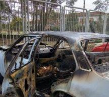 Λαμπάδιασε αυτοκίνητο στην περιοχή του νοσοκομείου της Καρδίτσας