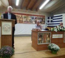 Kαλαμπάκα – Γιώργος Καραμπελιάς : Μόνο αντιστεκόμενος μπορεί να επιβιώσει ο ελληνισμός!