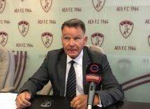 Σε συνέντευξη τύπου για την ΑΕΛ προχώρησε ο Αλέξης Κούγιας