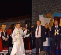 Για 6 συνεχή χρονιά αναβίωση παραδοσιακού γάμου και γιορτή πίτας στη πλατεία Φαρκαδόνας