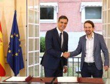 Συμφώνησε με τους Podemos ο Σάντσες και φαίνεται να παραμένει στην πρωθυπουργία