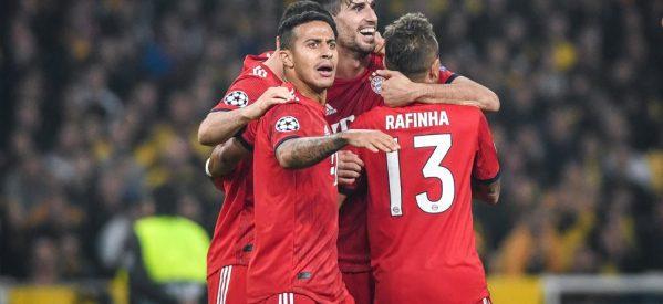 ΑΕΚ-Μπάγερν 0-2: Σε τρία λεπτά τέλειωσαν όλα!