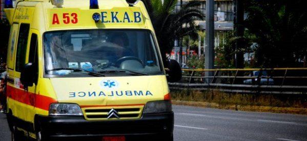 Τροχαίο με 30χρονο διανομέα στη Λάρισα
