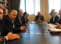 Συνάντηση του Υπουργού Παιδείας Κ. Γαβρόγλου με τον Περιφερειάρχη Θεσσαλίας Κ. Αγοραστό και Αντιπεριφερειάρχες
