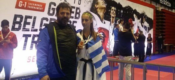 «Χάλκινη» η Τρικαλινή Φανή Τζέλη στους Ολυμπιακούς Αγώνες Νέων στην Αργεντινή