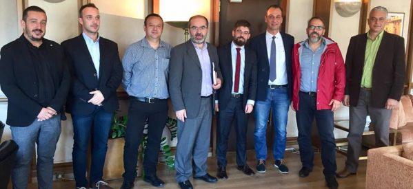 Συνάντηση της Πανελλήνιας Ομοσπονδίας Υπαλλήλων Εξωτερικής Φρούρησης (ΠΟΥΕΦ) με τον Υπουργό Δικαιοσύνης