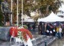 Tα νιάτα των Τρικάλων απέτισαν φόρο τιμής στους αγωνιστές φοιτητές της εξέγερσης του Πολυτεχνείου του 1973.