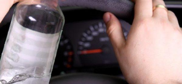 Οδηγούσε μεθυσμένος χωρίς δίπλωμα και ασφάλεια
