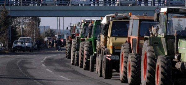 Μπλόκα αγροτών σε όλη την Ελλάδα από τις 28 Ιανουαρίου