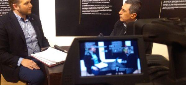 ΘΕΣΣΑΛΩΝ ΔΡΩΜΕΝΑ με τον υποψήφιο περιφερειάρχη Θεσσαλίας Δημήτρη Κουρέτα στην TRT