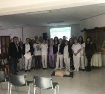 Μαθήματα Καρδιοπνευμονικής Αναζωογόνησης για το προσωπικό του Θεραπευτηρίου Χρονίων Παθήσεων Τρικάλων