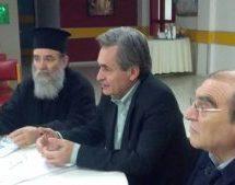 Επίσκεψη των ενοριτών Αγίας Παρασκευής Βαρουσίου στο Θεραπευτήριο Χρονίων Παθήσεων Τρικάλων