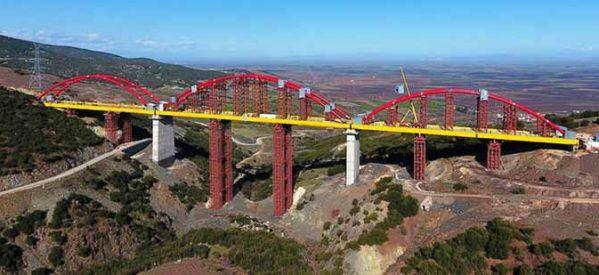 Σύντομα η ολοκλήρωση της μεγαλύτερης σιδηροδρομικής γέφυρας των Βαλκανίων στην Εκκάρα Δομοκού