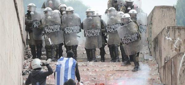 Συλλαλητήριο για τη Μακεδονία: 32 τραυματίες, μεταξύ των οποίων 10 αστυνομικοί!