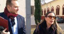 Η Λίνα Νικολακοπούλου με τον Κώστα Κωστούλα στα «Θεσσαλών Δρώμενα» [ βίντεο ]