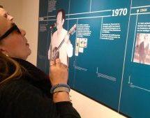«Επίσκεψη- προσκύνημα»  της Λίνας Νικολακοπούλου στο Μουσείο Τσιτσάνη