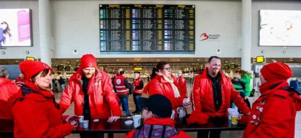 Βέλγιο: Παρέλυσε η χώρα από τη γενική απεργία με αίτημα την αύξηση των μισθών
