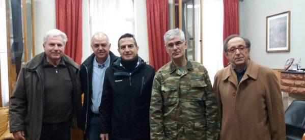 Συνάντηση Αντιπροσωπείας του ΣΕΓΑΣ με τον Διοικητή της ΣΜΥ