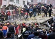 Στους 10 οι νεκροί από την κατάρρευση της πολυκατοικίας στην Κωνσταντινούπολη