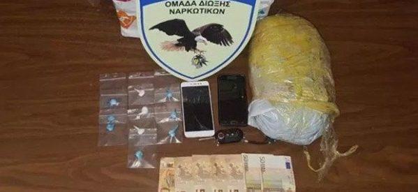 Τρίκαλα: Επιχείρησαν να στείλουν με… courier στη Μυτιλήνη κοκαΐνη και χασίς
