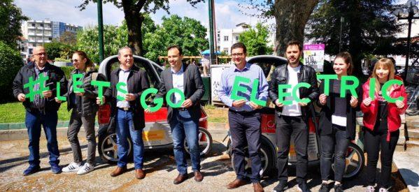 Παρουσίαση των ηλεκτροκίνητων οχημάτων στα Τρίκαλα