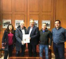 Στον Αντιπεριφερειάρχη και στον δήμαρχο  το προεδρείο της Πανελλήνιας ομοσπονδίας Βλάχων