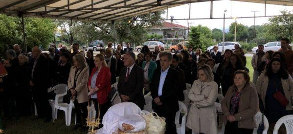Τίμησαν τον Άγιο Θεράποντα στο Θεραπευτήριο Χρονίων Παθήσεων