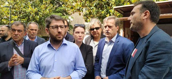 """Στην κεντρική Ελλάδα """"αγαπάμε Νίκο Ανδρουλάκη"""""""