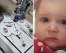 Βεβήλωσαν τον τάφο της 3χρονης Ραφαέλας στα Τρίκαλα!(Βίντεο)
