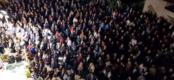 Με μεγάλη επιτυχία η προεκλογική συγκέντρωση του Κώστα Μαράβα στην Πύλη – «Νίκη από την πρώτη Κυριακή» το σύνθημα του υποψηφίου δημάρχου Πύλης