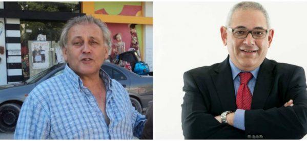 Δύο ευαίσθητοι  αριστεροί… εκπρόσωποι τύπου – Ο Μιχάλης Μπάρδας του δεξιού Δημήτρη Παπαστεργίου και ο Θανάσης Βαβύλης του «σοσιαλιστή» Κώστα Κρεμμύδα