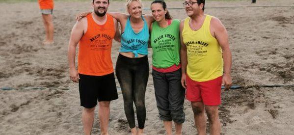 Με επιτυχία το beach Volley στα Τρίκαλα