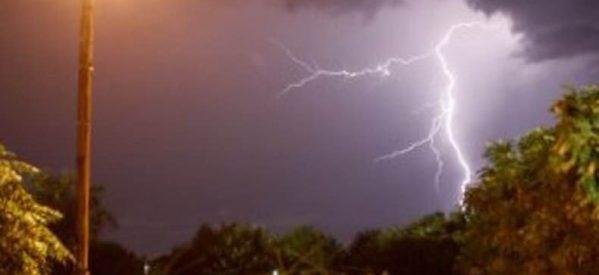 Απίστευτης έντασης καταιγίδα στα Τρίκαλα