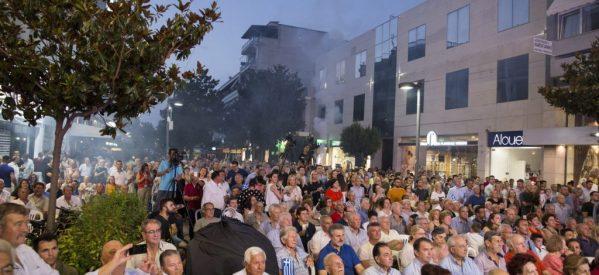 Πάει για πρωτιά στο ψηφοδέλτιο της ΝΔ ο Mικέλης Χατζηγάκης – Μεγαλειώδης συγκέντρωση στα Τρίκαλα