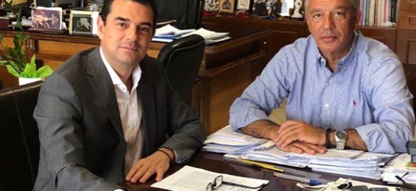 Έργα υποδομών και μέτρα στήριξης των αγροτών στο «μενού» της συνάντησης Σκρέκα – Μιχαλάκη