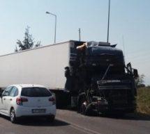 Σύγκρουση φορτηγών στην οδό Τρικάλων-Καλαμπάκας