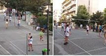 Street Volley στην Ασκληπιού