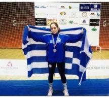 Κατέκτησε το Χάλκινο μετάλλιο σε Βαλκανικούς Αγώνες Πάλης η Τρικαλινή Ευαγγελία Καζάλα